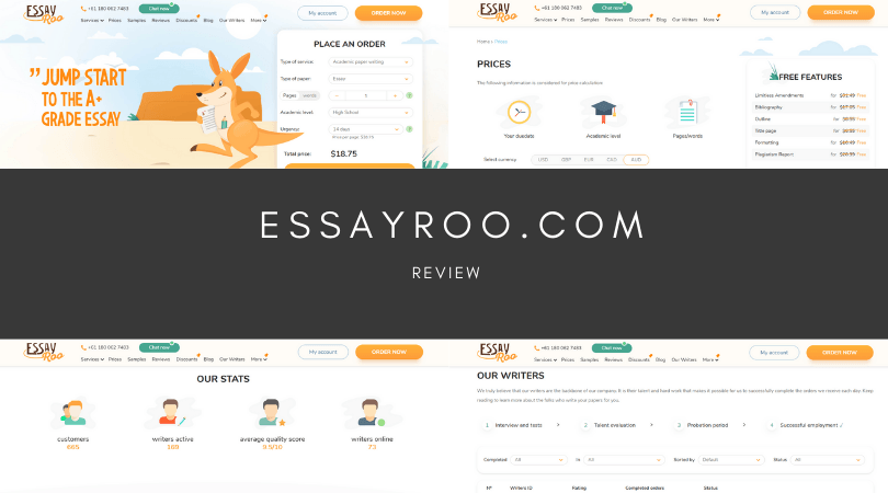 essayroo review