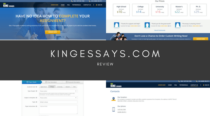 Kingessays Review