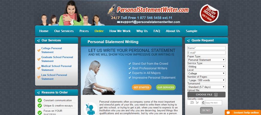 Personalstatementwriter review