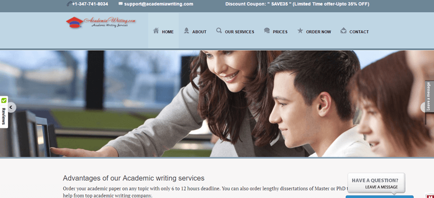 academiawriting.com service