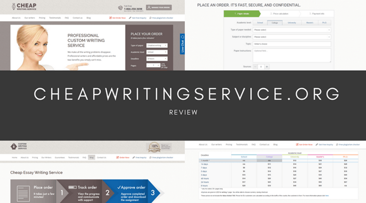 Cheap writing service reviews