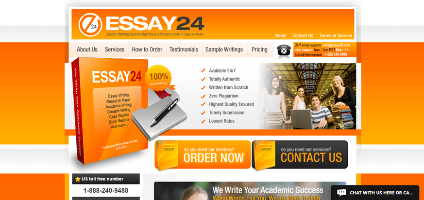 essay 24 review