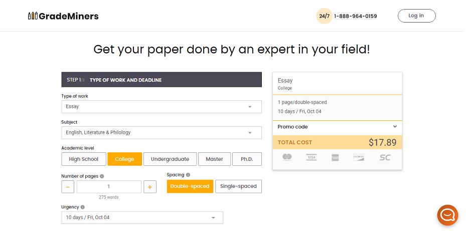 grademiners.com order
