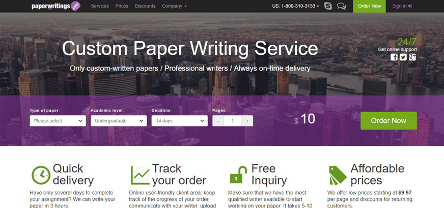 paperwritings review