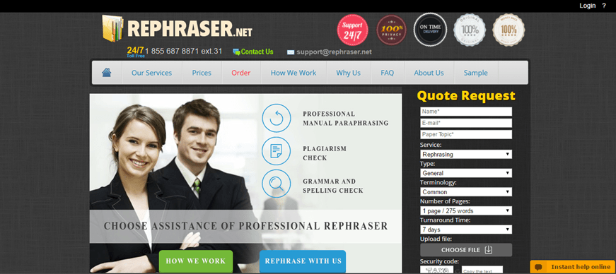 rephraser review