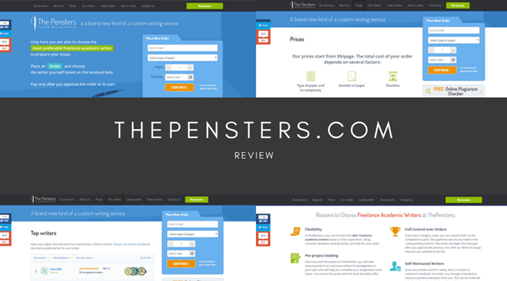 thepensters.com review
