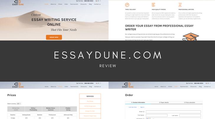 essaydune.com review