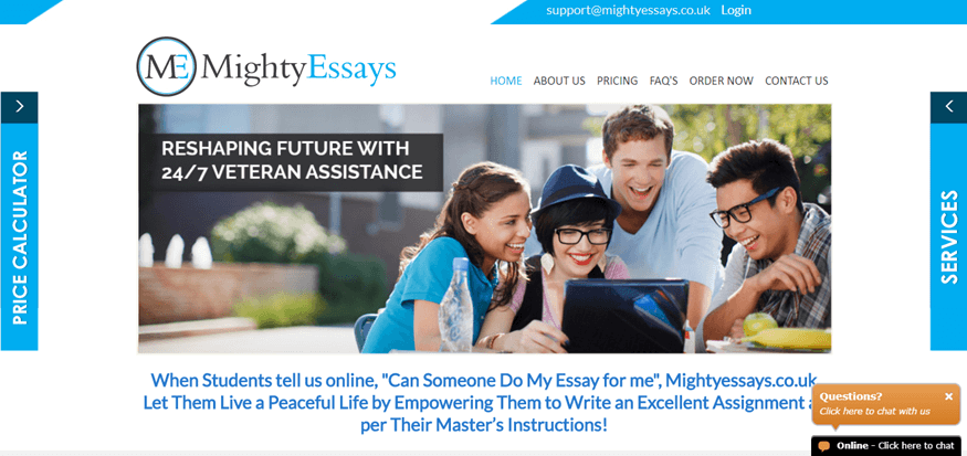 mighty essays review
