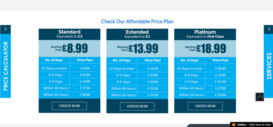 mightyessays.co.uk pricing