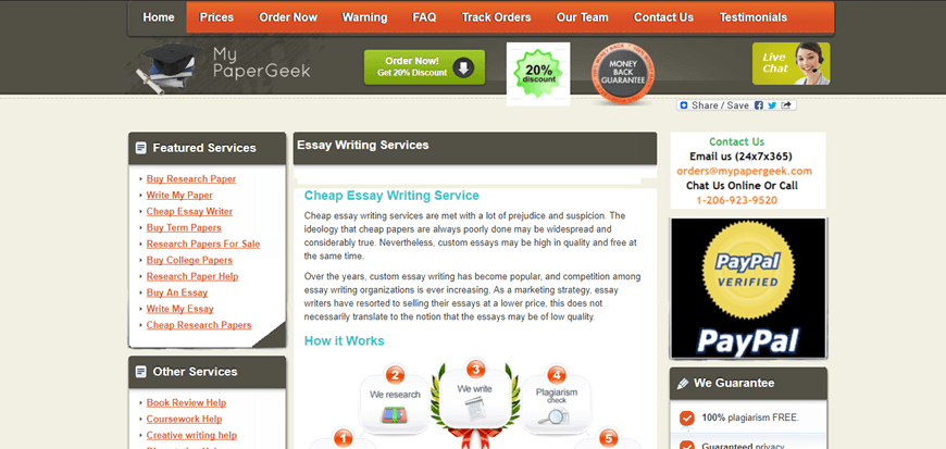 customized essays online