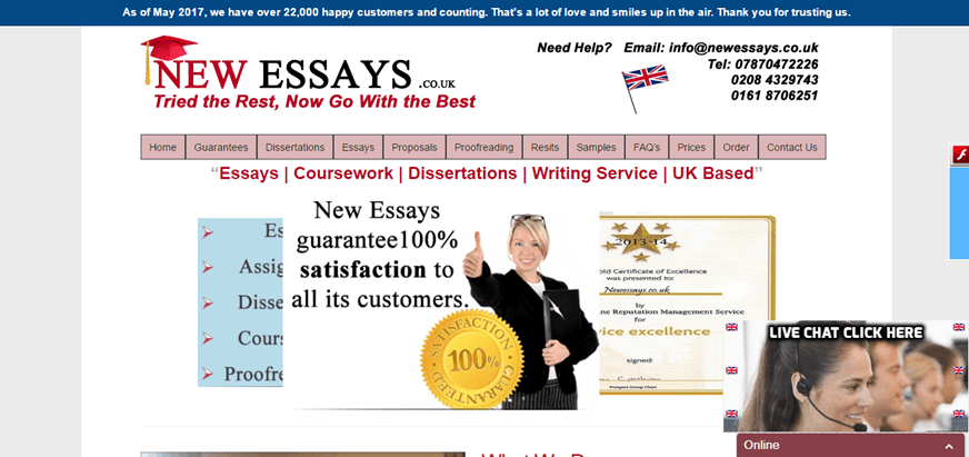 new essays review