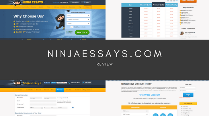 ninjaessayscom review