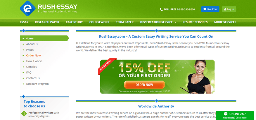 rushessay.com coupon Rush my essay review the rushmyessay coupon codes indicated rushmyessay22 are also available and provide the customers with the lower prices than expected.