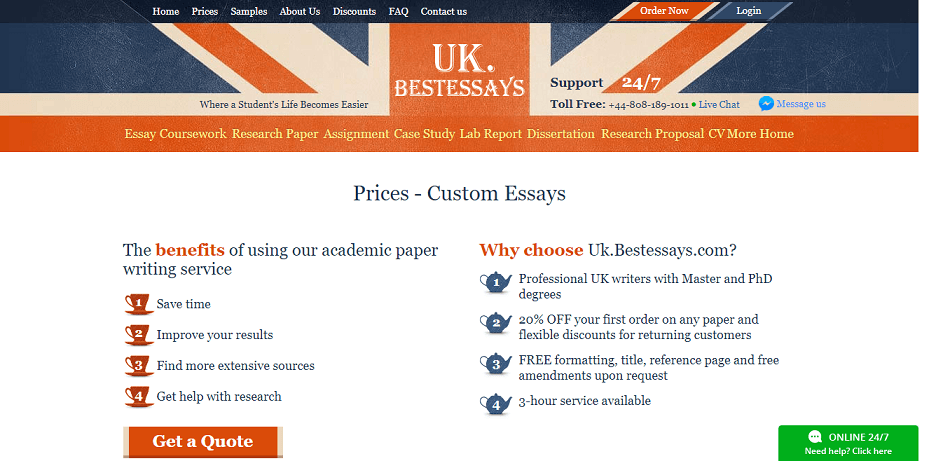 uk.bestessays.com prices