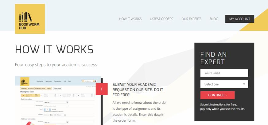 bookwormhub.com how-it-works