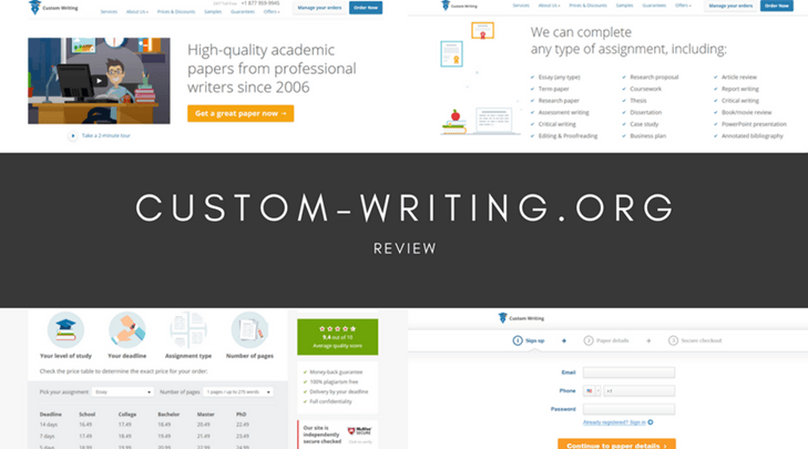 Review Custom Writing now