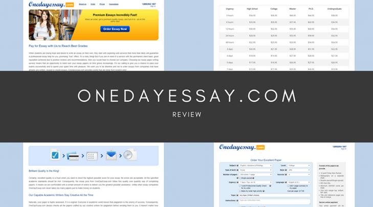 onedayessay.com review