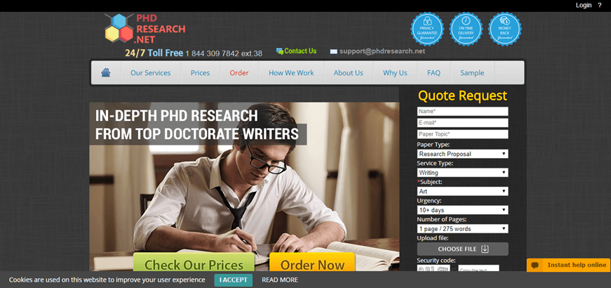 phd research review