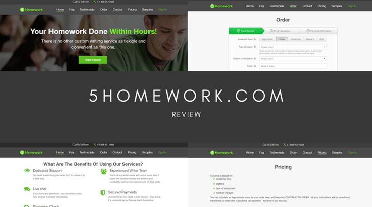 5homework.com review