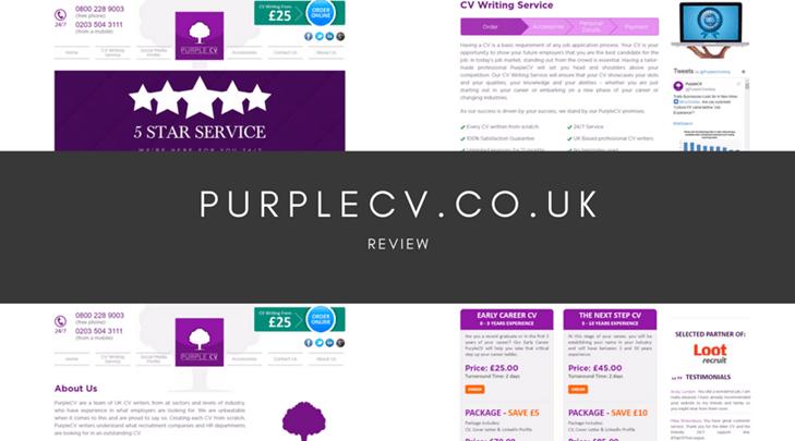 purplecv.co.uk review