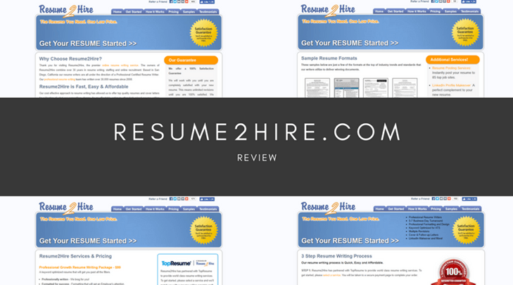 resume2hirecom review no contact methods