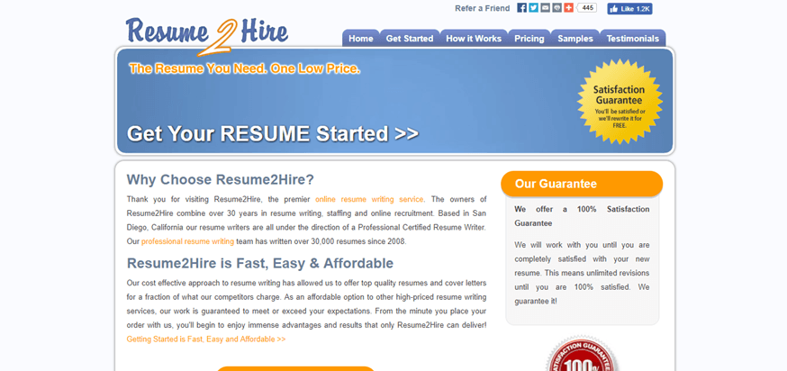 resume2hire review no contact methods simple grad