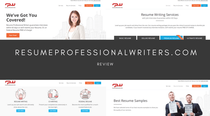 ResumeProfessionalWriterscom Review Relatively Expensive Simple