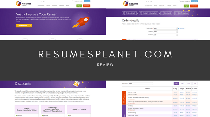 resumesplanet.com review