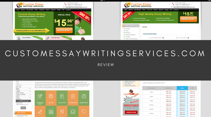 customessaywritingservices.com review Essaycompaniesreviewscom is young and ambition team of students, who provide trustful reviews of essay writing companies and can surely give an advice for you.