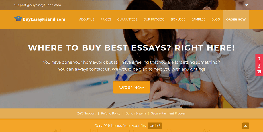 buy essay friend review