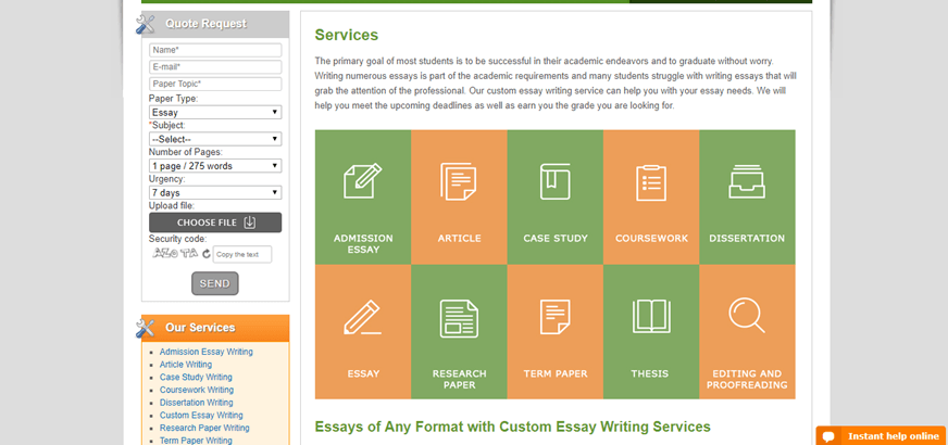 Custom admission essays
