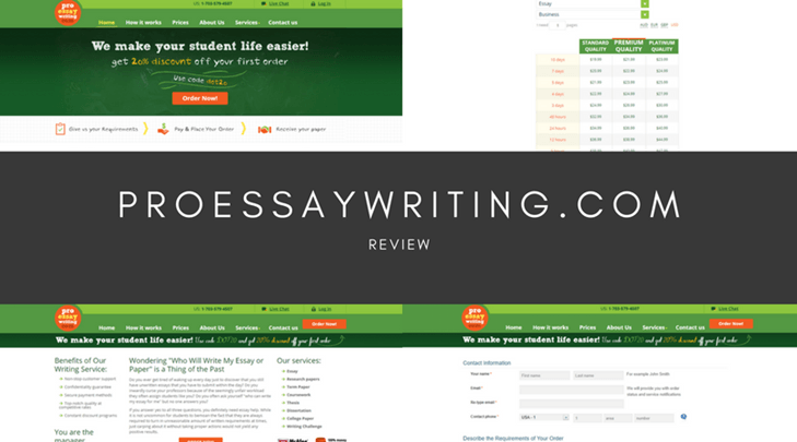 proessaywriting.com review