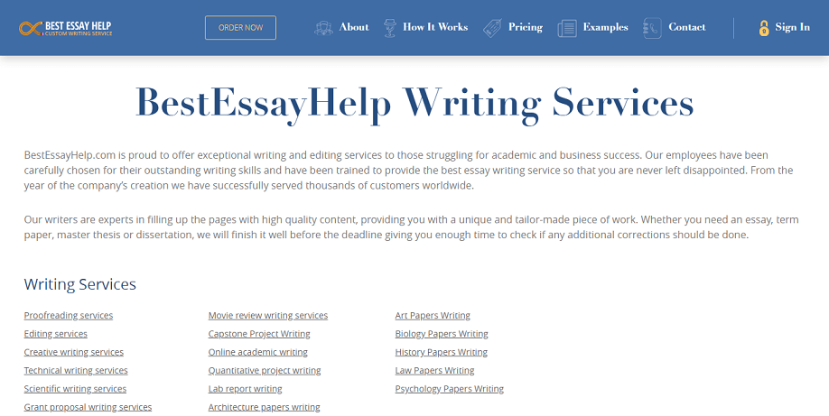 essay review service our website