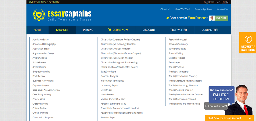 essaycaptains.com services