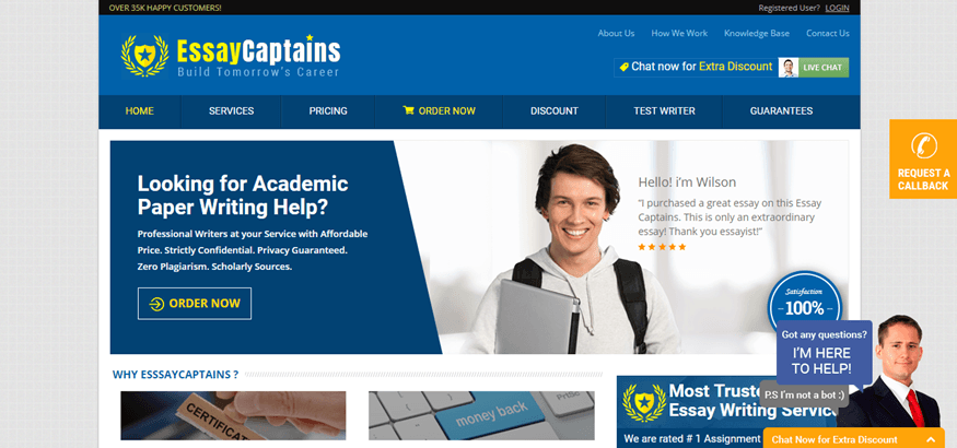 essay captains review