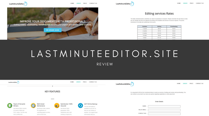 LastMinuteEditor.site review