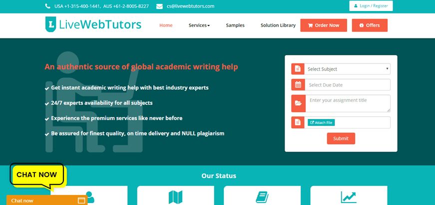 live web tutors review