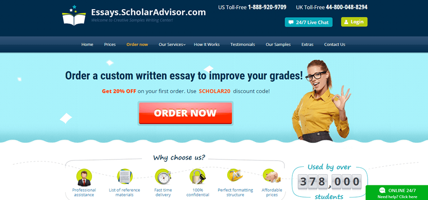 essays scholaradvisor review