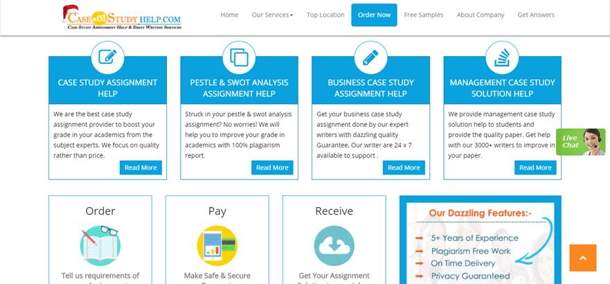 casestudyhelp.com services