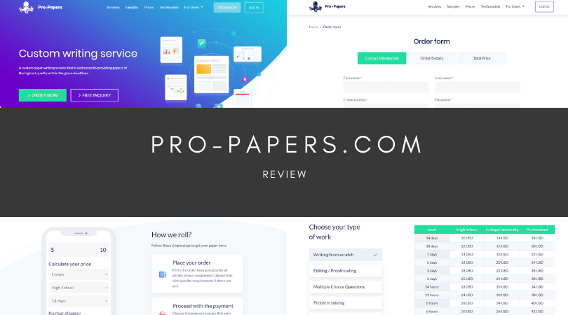 pro-papers.com review