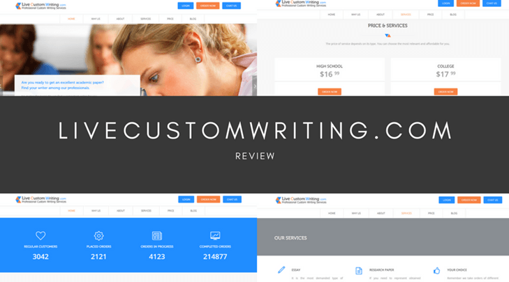 LiveCustomWriting.com review