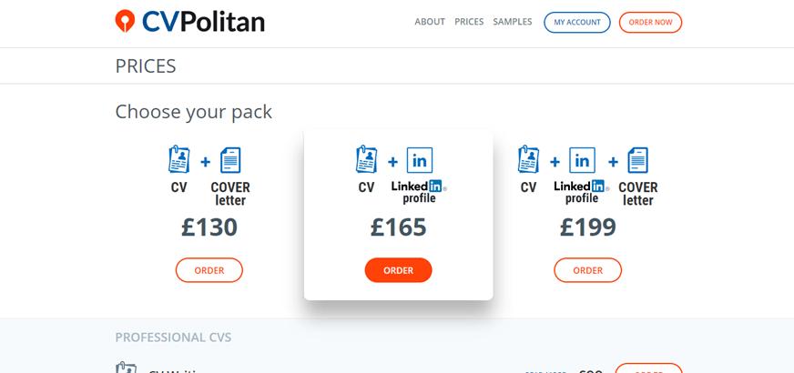 cvpolitan.co.uk prices