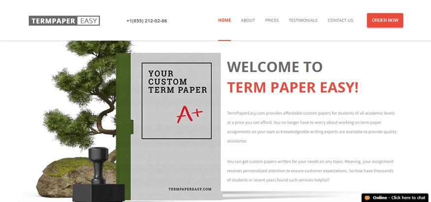 term paper easy