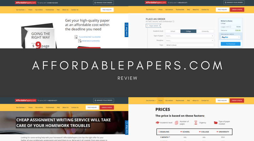 affordablepapers.com review