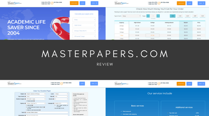 masterpapers.com review