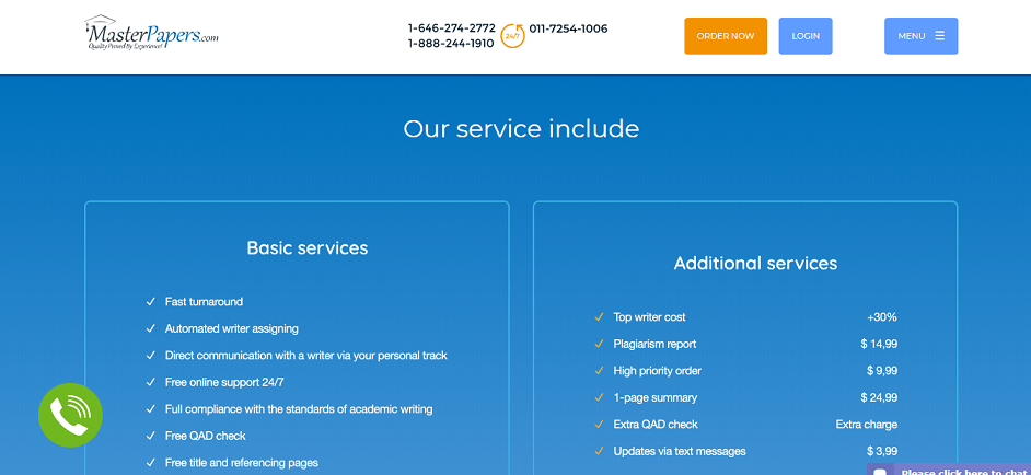 masterpapers.com services