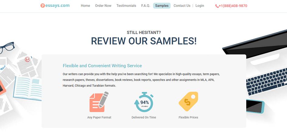 7essays.com samples