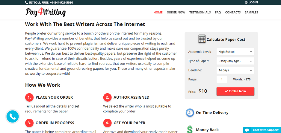 pay4writing.com writers