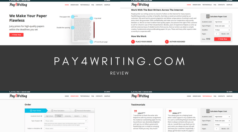 pay4writing.com review