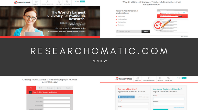 researchomatic.com review